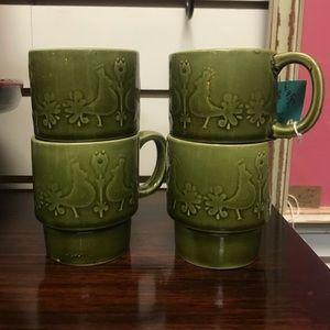 Mid Century Nesting Mugs 🌿